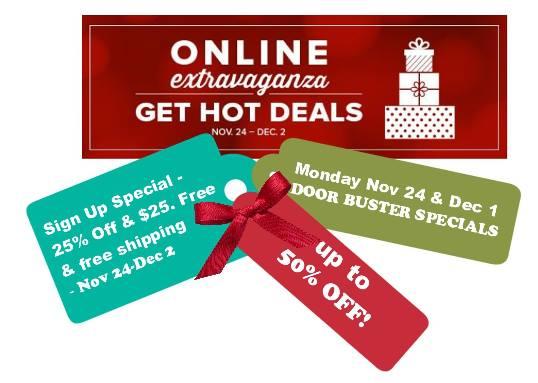 Online Extravaganza Banner