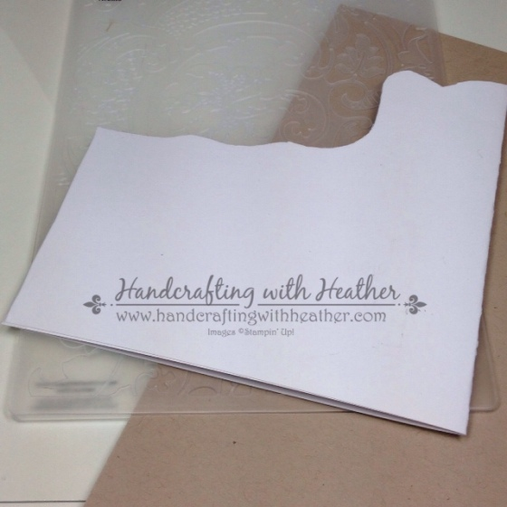 Partial Embossing Shim
