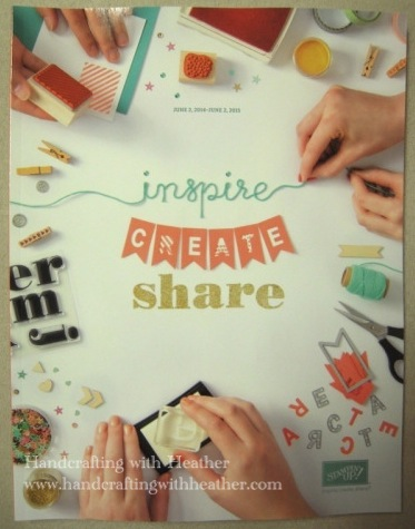 2014 Stampin' Up! Catalog Cover