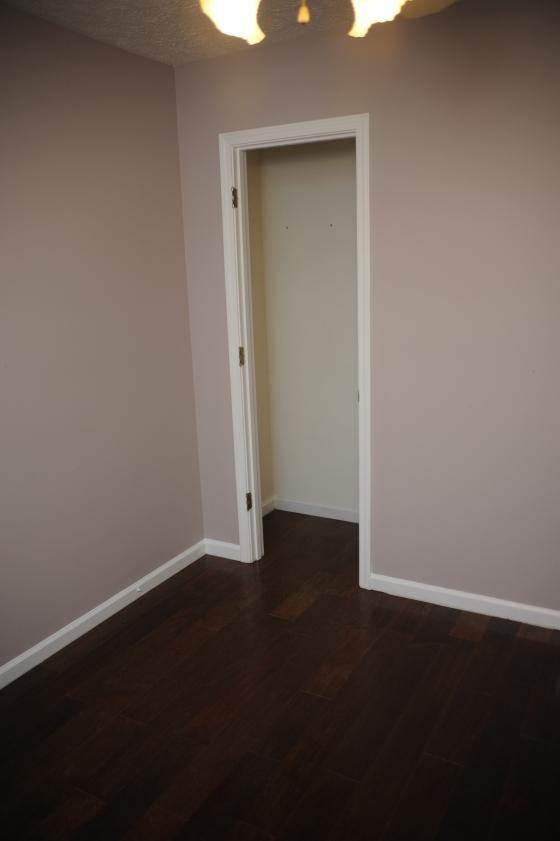 Goodbye carpet... hello hardwood floors!