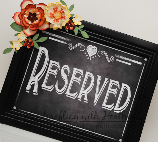 Flower Frenzy Wedding Signs (7 of 12)