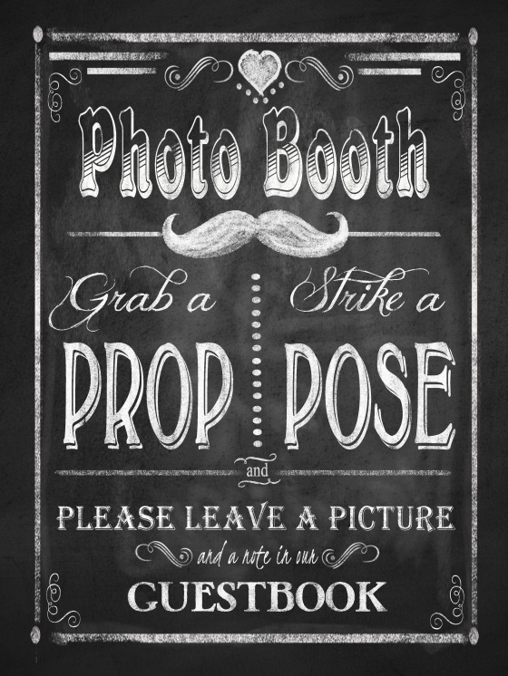 Photo Booth 18x24 print