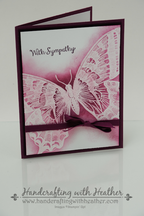Swallowtail Sympathy Card (3 of 5)