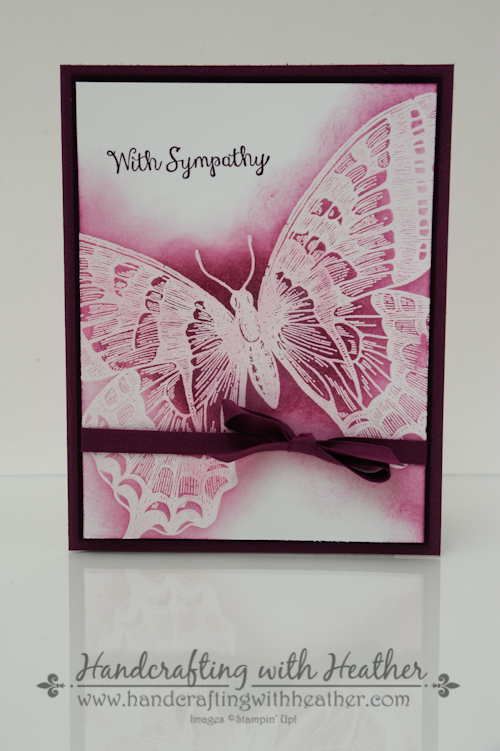 Swallowtail Sympathy Card (4 of 5)