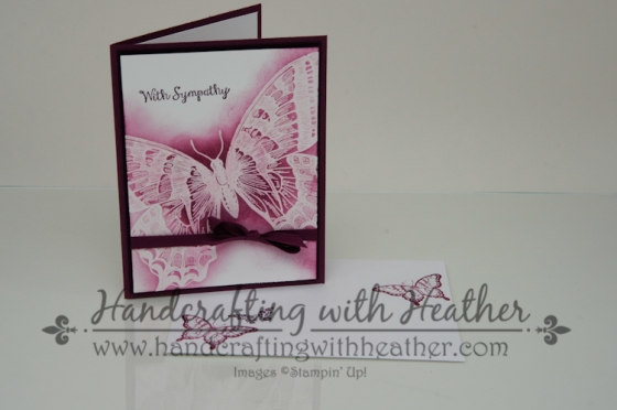 Swallowtail Sympathy Card (7 of 5)