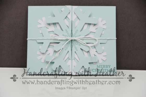 Snowflake November Paper Pumpkin (2 of 4)